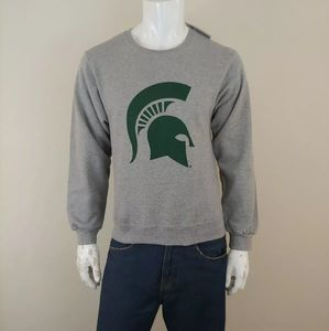 NCAA Jerzees Michigan State Sweatshirt Sz S